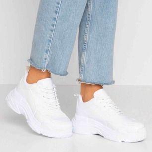 Snygga chunky sneakers, knappt använda!