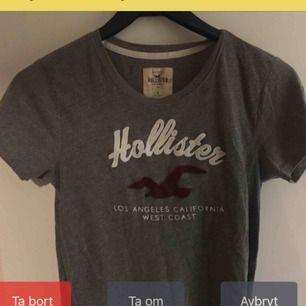 En tröja från Hollister, använd 2 gånger. Jättefint skick. Bilden blev konstig eftersom Att den legat ute på plick ett tag men sänker priset på den nu.