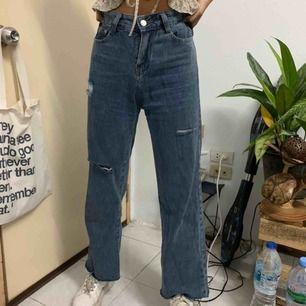 Säljer en jätte fin jeans som aldrig har används och köpte utomlands!  Frakt tillkommer