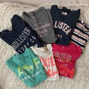 Blandade T-shirts från olika märken. Blandade storlekar och olika pris. Skriv privat om ni är intresserade. (: Fraktar