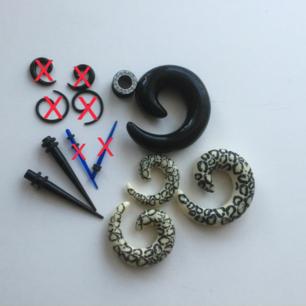 Kit för töjningar 5 - 14 mm   Möter upp i Sthlm eller köparen står för frakt.  Betalas med swish.