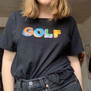 Fejk GOLFWANG-tröja, alltså Tyler The creators klädmärke. Använd Max 1 gång. Fri frakt, buda gärna.