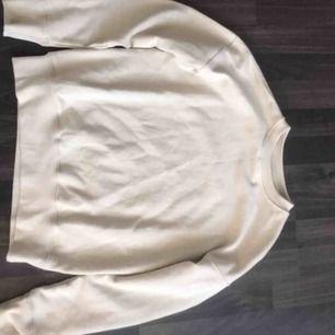 Super fin knappt använd beige college tröja från det stilrena märket diemonde🥰