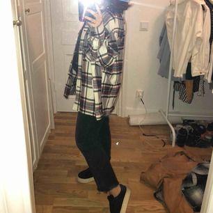 Rutig oversize skjorta från Zara!