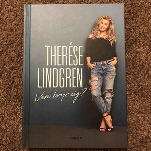 Bok från Therese Lindgren: Vem bryr sig? Nyskick. Köpt för 200:- Mitt pris 60:- Frakt: 50:-