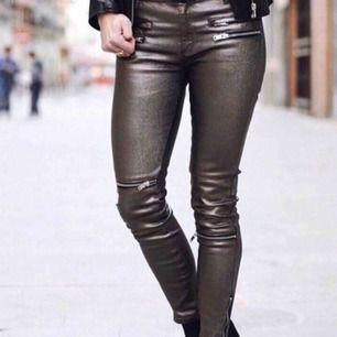 Oanvända biker byxor från Zara med skimmer i ✨ Fraktkostnad tillkommer