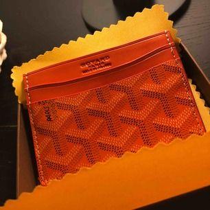 Korthållare ifrån Goyard (AAA Kopia) helt ny, äkta läder  Jag står för frakten