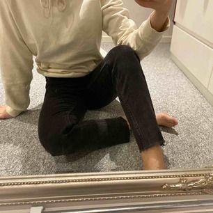 Ljusgrå (ej urtvättade) slim fit jeans!🖤