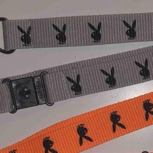 2 playboy nyckelband. Orange och grå/silver. 80kr inklusive frakt för båda annars 50kr st! Tveka inte att fråga om du undrar över nåt! :)