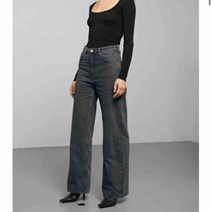 jätte snygga jeans, vida ben, storlek 25/32
