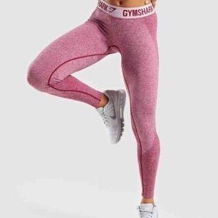 Slutsålda Gymshark Flex leggings Beet Marl/Chalk Pink. Strl S. I använt men bra skick. Säljes pga har alldeles för många träningstights.