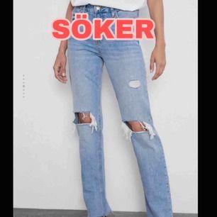 Någon som har dessa jeans i storlek 34 eller 36 som vill sälja! Hör av dig🥰