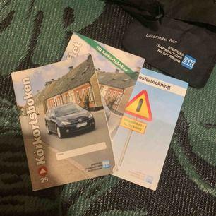 Körkorts böcker! Bra skick