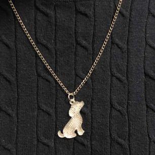 Jätte gulligt hund halsband