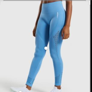 Gymshark Energy+ Seamless Leggings - Blue Helt nya i förpackningen, bara provat ej använt  Ordinariepris 600kr