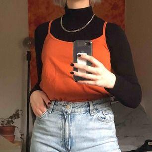 orange/brunt linne från nakd! frakt 24kr