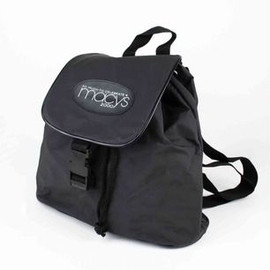 Vintage 2000s Y2K Macy's year 2000 celebration backpack in black  Height: 30; width: 37; depth: 12 Free shipping! Read the full description at our website majorunit.com No returns