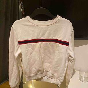 Lite champion inspirerad sweatshirt köpt på hm. Inte använd mycket och nypriset är kanske 200kr skulle jag gissa