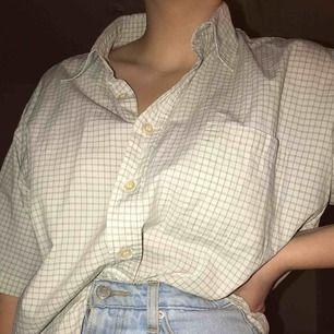 Rutig skjorta. Oversized
