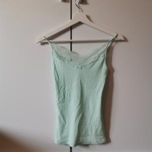 Mintgrönt linne Använd någon enstaka gång Storlek: XS Frakten ligger på 22 kr