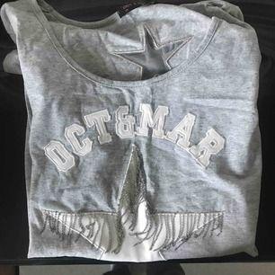 En knappt använd t-shirt o skönt material