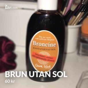 En perfekt brun utan sol som man lätt tvättar av och smörjer in igen! Perfekt för vintern! Den är inte använd utan bara testad! ❤️ 130ml