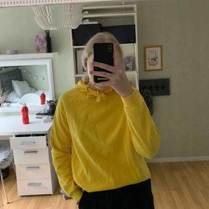 En gul jätte fin hoodie i storlek xs från Gina. Passar perfekt till att sätta lite färg på din outfit. 🌞 Frakt tillkommer