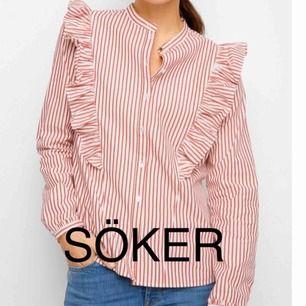 Söker efter den här skjortan från Lindex! Storlek 36-38 alt. S-M. Kan givetvis betala en rimlig peng:)