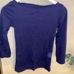 Tajt blå skön tröja