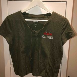 Grön T-shirt från hollister