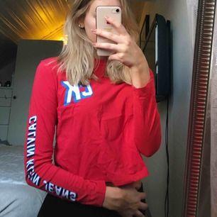Långärmad tröja från Calvin Klein. Storlek S men skulle även passa en XS. Jättefint skick då den knappt är använd!