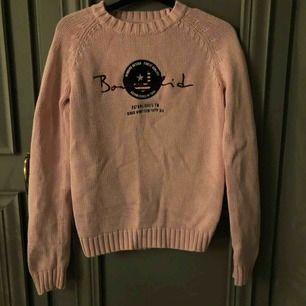 Rosa stickad tröja från Bondelid Fin kvalité Storlek: S Frakt tillkommer 📦