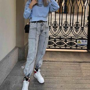 Jeans från Bershka endast använda en gång.