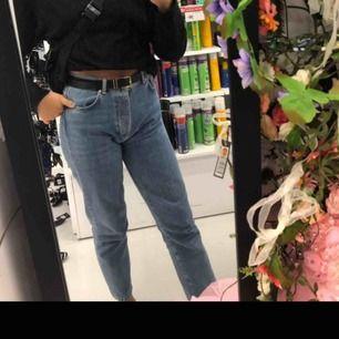 Jätte fina jeans från bikbok tror jag inte helt säker, nypris 600 o säljer pga dom är för stora för mig:)