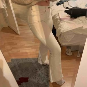 Vita bootcut jeans från Dr. Denim Lite uppsydda passar bra på mig som är 164 Fint skick