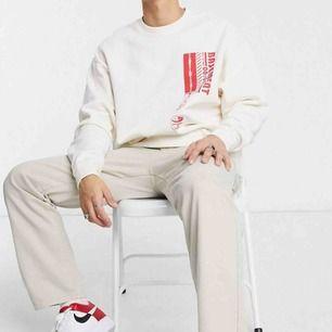 Säljer denna coola tröja från ASOS, använd endast 1 gång. Står storlek XXS man men den passar på mig som är S, skulle tom säga att den skulle passa M