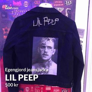 Egengjord peep jacka med custom detaljer