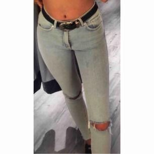 Fina jeans som jag köpte för 600kr på bikbok.  För 6 månader sedan, väldigt sköna och sitter fint.  Mitt pris 250+ frakt tillkommer 💓