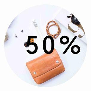 50% på allt