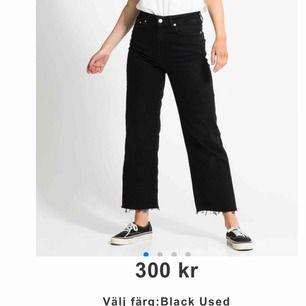 Jeans från lager 157, använda en hel del men i fint skick. Säljer pga använder dom inte längre. Färgen är lite mer grå nu efter tvätt cirka 2 gånger.