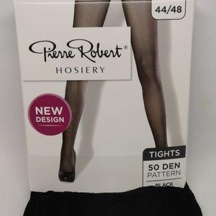 1 par svarta tights / strumpbyxor utan mönster, så