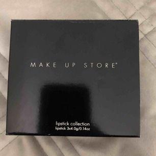 Helt Nya läppstift från makeup store.
