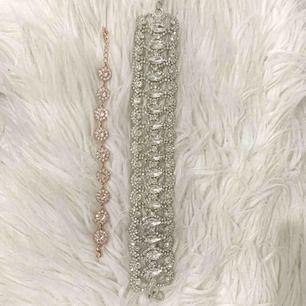 Helt oanvänt Sofia bracelet från Lily and Rose säljes för 450kr. Choker använd två gånger och säljes för 100kr.