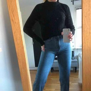 Svart ull imiterad tröja 🖤