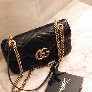 Gucci väska ny användt 2 ggr!