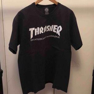 Thrasher tshirt  Stl M  Bra skick!  Frakt 55:-