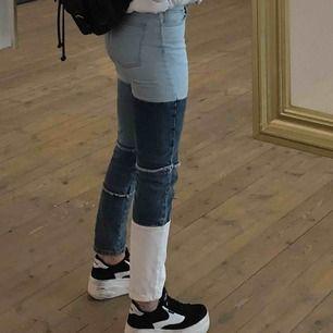 Feett nice byxor som ja köpte på BikBok för ett tag sen. Jag e 1,67 & dom sitter bra men ej min stil längre hehe. Frakt ingår i priset!!:)