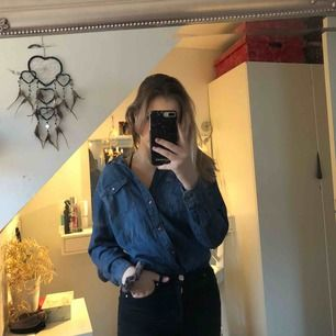 Jeansskjorta från Lindex, aldrig använd