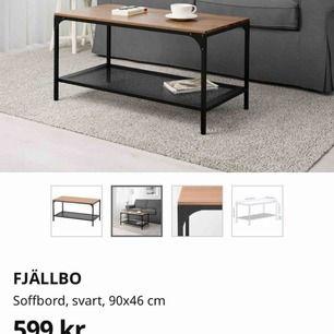 Soffbord från Ikea , Ca 5månader gammalt i bra skick. Säljes på grund av ändring av inrednings still.