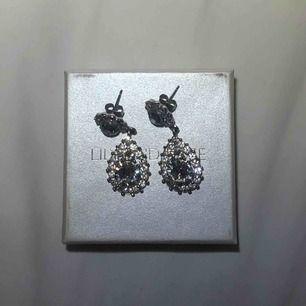 Ett par superfina äkta lilly and rose örhängen, ordinarie pris på deras hemsida är från 345-395 kr. Riktigt fint skick, använda 1 gång💕